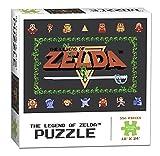 zelda classic - USAopoly Legend of Zelda Classic Puzzle (550 Piece)