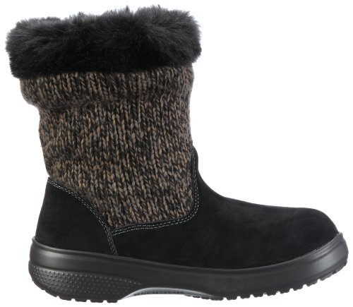 Crocs Gris Char Bootie grau Botas Para black blk charcoal Mujer Cozycrocs Bzw rqn7wXZr
