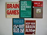 Memory (5 Set) Brain Building Games; Learn Faster & Remember More; Use It or Lose It Reviews