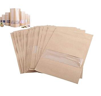 Bolsas de papel kraft, 20 unidades, bolsas de papel kraft ...