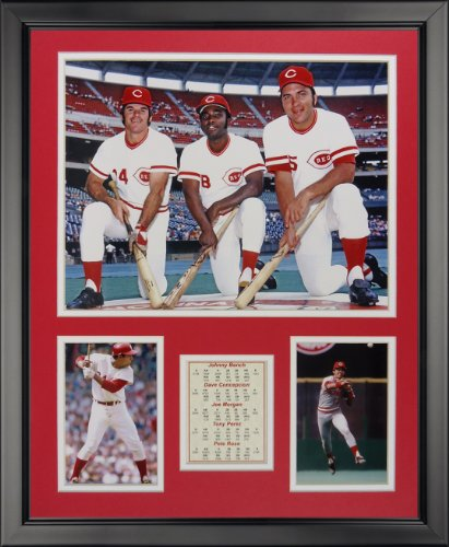 Legends Never Die Cincinnati Reds - The Big Red Machine Framed Photo Collage, 16