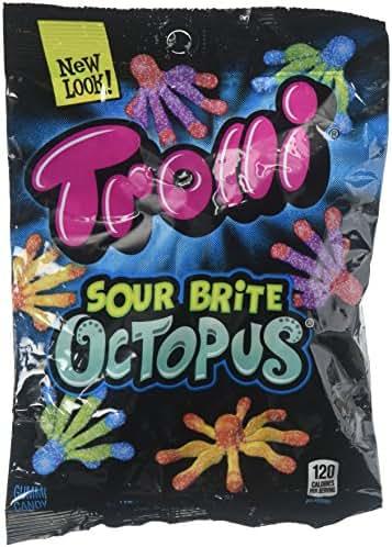Gummy Candies: Trolli Sour Brite Octopus