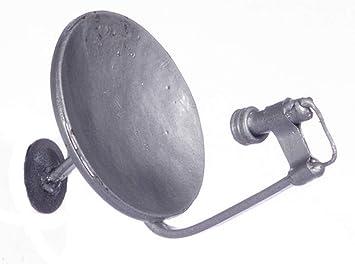 Casa De Muñecas Pequeño Plata Antena Parabólica Miniatura Moderna Metal Accesorio 1:12