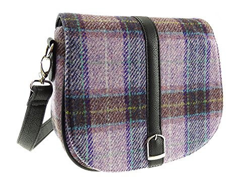 Harris Tweed Ladies Shoulder Bag Beauly In Various Colours LB1000 Col34