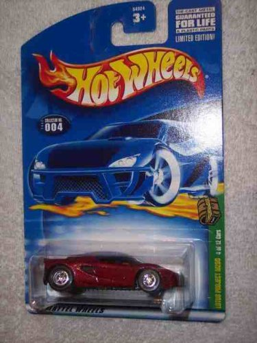 Hot Rod Cars Project (2002 Treasure Hunt #4 Lotus Project M250 #2002-4 Collectible Collector Car Mattel Hot Wheels)