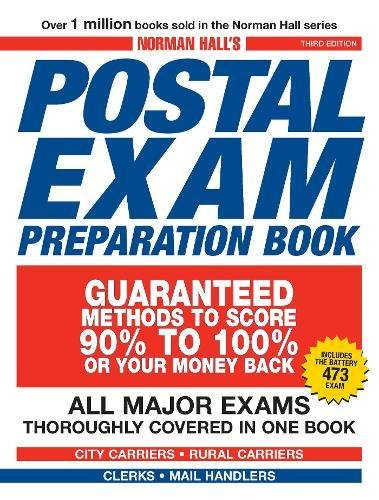 Pdf Test Preparation Norman Hall's Postal Exam Preparation Book: Everything You Need to Know... All Major Exams Thoroughly Covered in One Book
