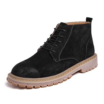 Dundun-boots 2018 Botas New Coming, Botas de Trabajo para Hombre, Sencillas y