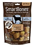 SmartBones Peanut Butter Dog Chew, Mini, 16 pieces...