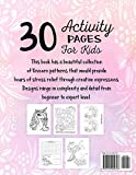Unicorn Activity Book for Kids Ages 4-8: A Fun
