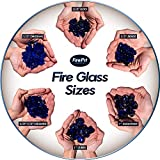 Deep Sea Blue - Fire Glass Diamonds for Indoor and