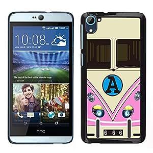 Dragon Case - FOR HTC Desire D826 - You can't go back - Caja protectora de pl??stico duro de la cubierta Dise?¡Ào Slim Fit