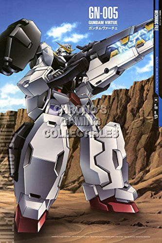 CGC Huge Poster - Mobile Suit Gundam 00 Anime Poster Special Edition Awakening of Trailblazer - GN-005 Gundam Virtue- GUNO21 (24