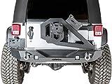 #4: Havoc Offroad GEN 2 Aftershock 2007-2017 Jeep JK Wrangler Mid Width Rear Bumper w/ Hinged Tire Carrier