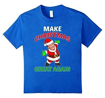 FUNNY MAKE CHRISTMAS GREAT AGAIN T-SHIRT Donald Trump 2016