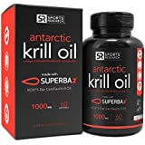 Antarctic Krill Oil 1000mg with Astaxanthin | 60 Liquid Softgels - 2 Month Supply