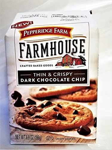 - New! Pepperidge Farm Farmhouse Thin & Crispy Dark Chocolate Chip Cookies 6.9oz (U)D