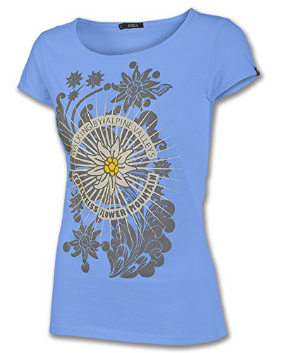 Joma - Camiseta graphic outdoor royal m/c para mujer