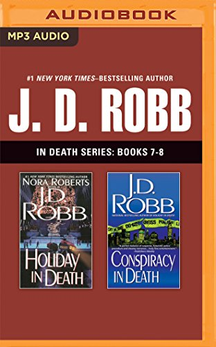J. D. Robb - In Death Series: Books 7-8: Holiday in Death, Conspiracy in Death - Book  of the In Death