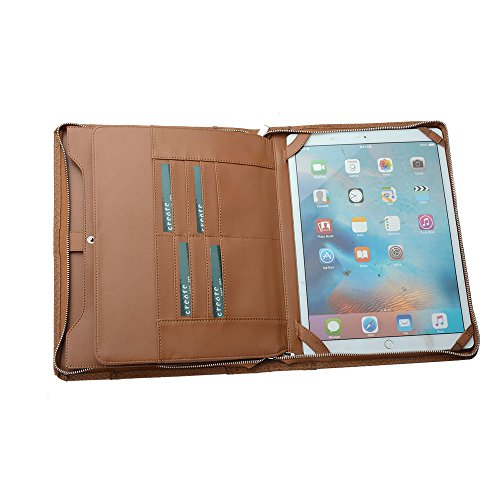 (Executive Diamond-Weave Letter / A4 Organizer Folio, for 12.9-inch iPad Pro 2018)