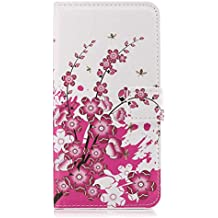 Huawei P7 Flip Case, Cover for Huawei P7 Leather Extra-Durable Business Kickstand Mobile Phone Cover Card Holders with Free Waterproof-Bag