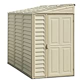 Duramax 06625 Side Mate Shed with Foundation, 4 by 8-Inch