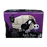 Nightmare Before Christmas JACK Tuxedo Grim Reaper Comfy SNUGGIE Throw Blanket w/Sleeves