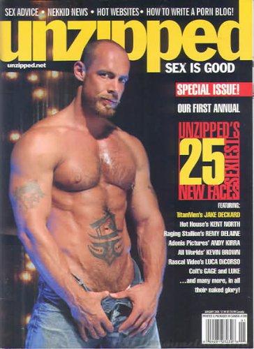 Unzipped Magazine December 2006 (Shane Collins likes it DOGGIE STYLE!)