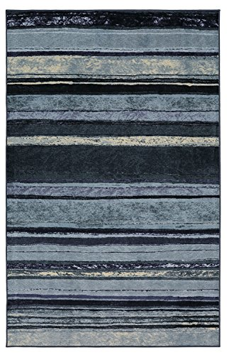 Mohawk Home New Wave Rainbow Dusk Rug, 5'x8'- Family Room Ideas - Make quick & easy changes to any room in your home in minutes by changing the rug - add color & patterns