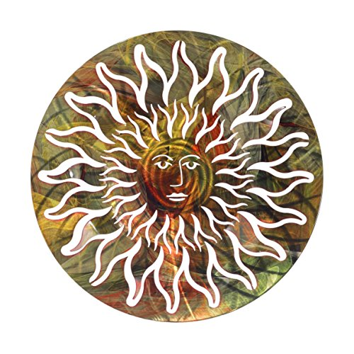 Price comparison product image Next Innovations Multi Sun Face Refraxions 3D Wall Art,  Multi