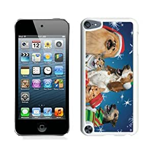 Personalize offerings Christmas Dog and Cat White iPod Touch 5 Case 2