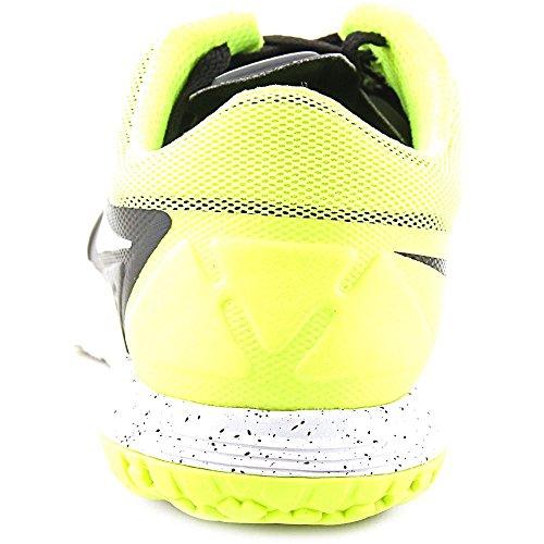 Nike FS Lite Trainer II Men Round Toe Synthetic Blue Running Shoe Black/Volt/White/Mtlc Platinum clearance original t5T6hf