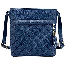 JD Million shop 2017 Fashion Small Tassel Bag Women Messenger Bags Lattice Ladies Crossbody Bag Soft