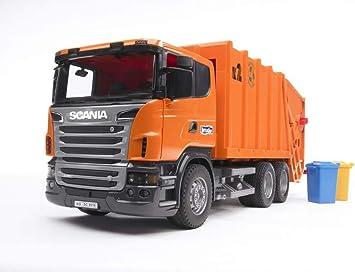 03560 SCANIA R Serie Müll LKW (orange)