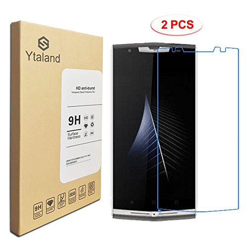 [2 Pack] Oukitel K10000 Pro Screen Protector 5.5Inch, Tempered Glass Anti-fingerprints Thin 9H Screen Hardness Screen Protector For Oukitel K10000 Pro