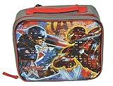 Marvel Avengers Captain America-3 Civil War Boys Lunch Bag (One size, Gray/Multi)