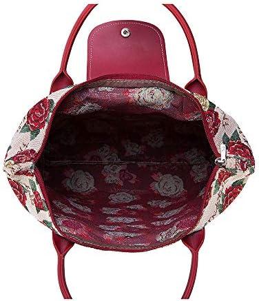 Signare tapiz bolsas reutilizables tote bag bolsa compra para mujeres con dise/ños de patrones de color Concha de mar