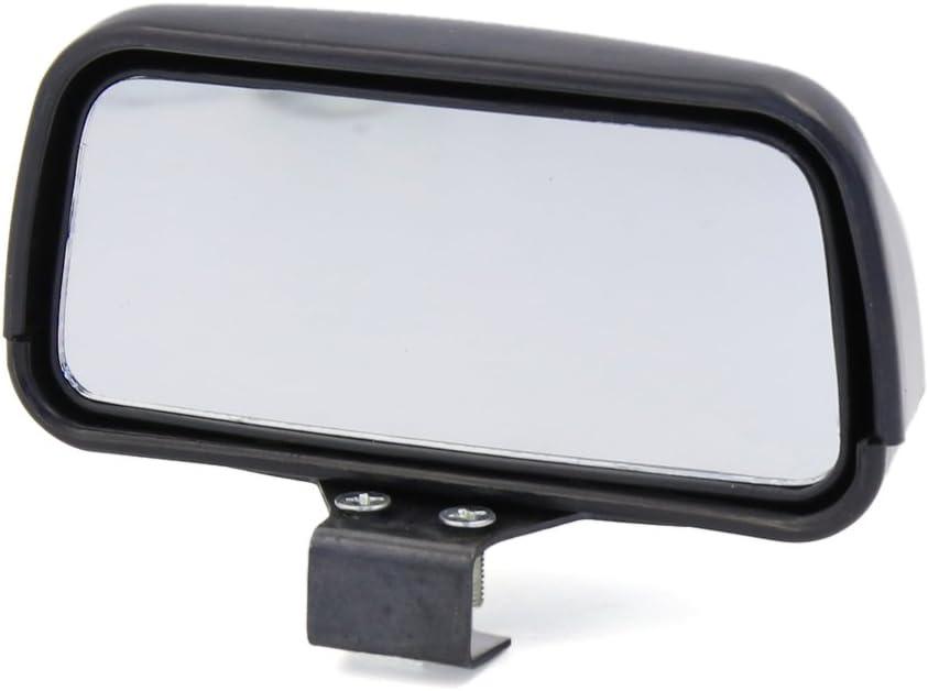 Sourcingmap/® Voiture Cote Droit Angle Mort R/étroviseur Miroir dangle Mort Grand Angle Vue Noir
