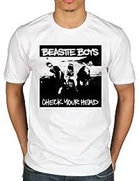 Men's Official Beastie Boys Check Your Head T-Shirt Hip Hop Rap Rock Band