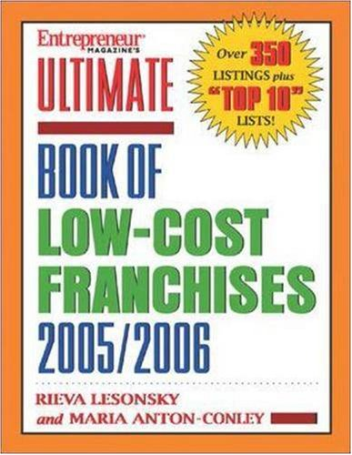 Ultimate Book of Low-Cost Franchises
