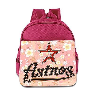 Houston Astros Logo Kids School Backpack Bag