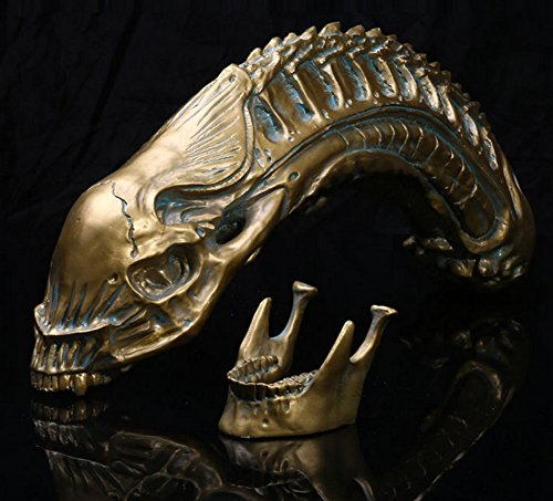 Price comparison product image Gmasking 2016 Predator VS Alien Resin Alien Skull Statue Replica