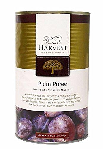 Home Brew Ohio Vintner's Harvest Fruit Puree-Plum 49 ()