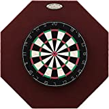 29' Professional Dartboard Backboard, Octagonal (Burgundy)