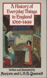 img - for A History of Everyday Things in England: Volume I 1066 to 1499 book / textbook / text book