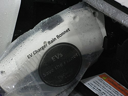 """Level 1 EVSE power adapter, EVPA 6-20R to 5-15P connects a 240V Level 2 Electric Vehicle Car Charger to a 120V outlet 14""""/20A for Dousida/EVFASTx3 etc BONUS:Rain Bonnet, EVs Save the Planet Sticker by EVDoctor (Image #2)"""