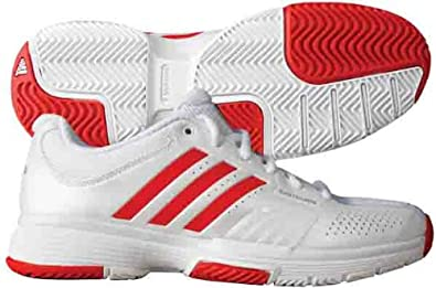 54a0c79af8057 Amazon.com | Adidas Women's Adipower Barricade Tennis Shoes (White ...
