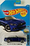 Hot Wheels 2017 Factory Fresh 2015 Ford Mustang GT Convertible 104/365, Blue