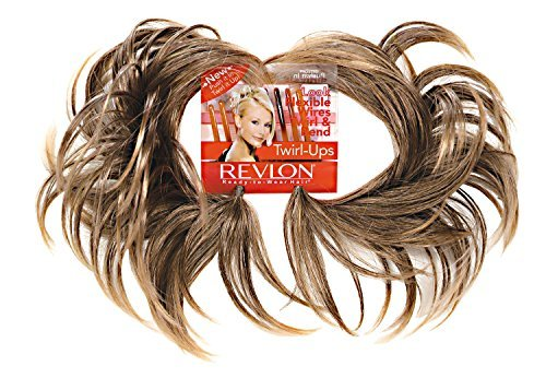 Revlon Hair Extensions - Twirl Ups Color Frosted - Revlon Hairpiece Overall Length 8
