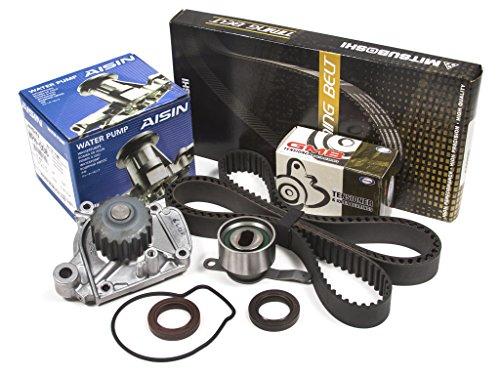 Evergreen TBK224MWPA Honda Civic 1.6 D16Z6 VTEC Timing Belt Kit AISIN Water Pump