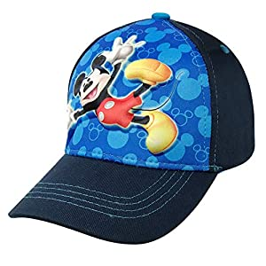 Disney Boys Mickey Mouse 3D Pop Cotton Baseball Cap Age 4-7